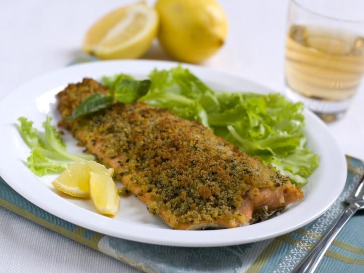 Filetti di trota salmonata e trote spinate